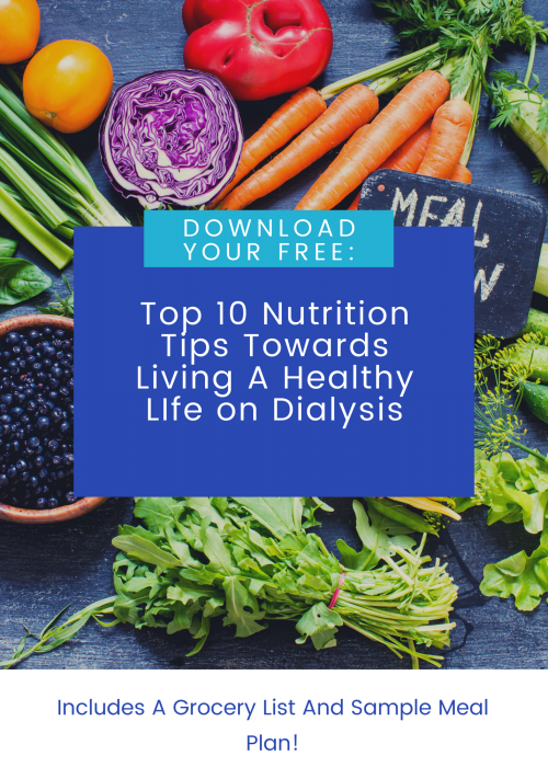 Free download of top 10 tips + grocery list and meal plan