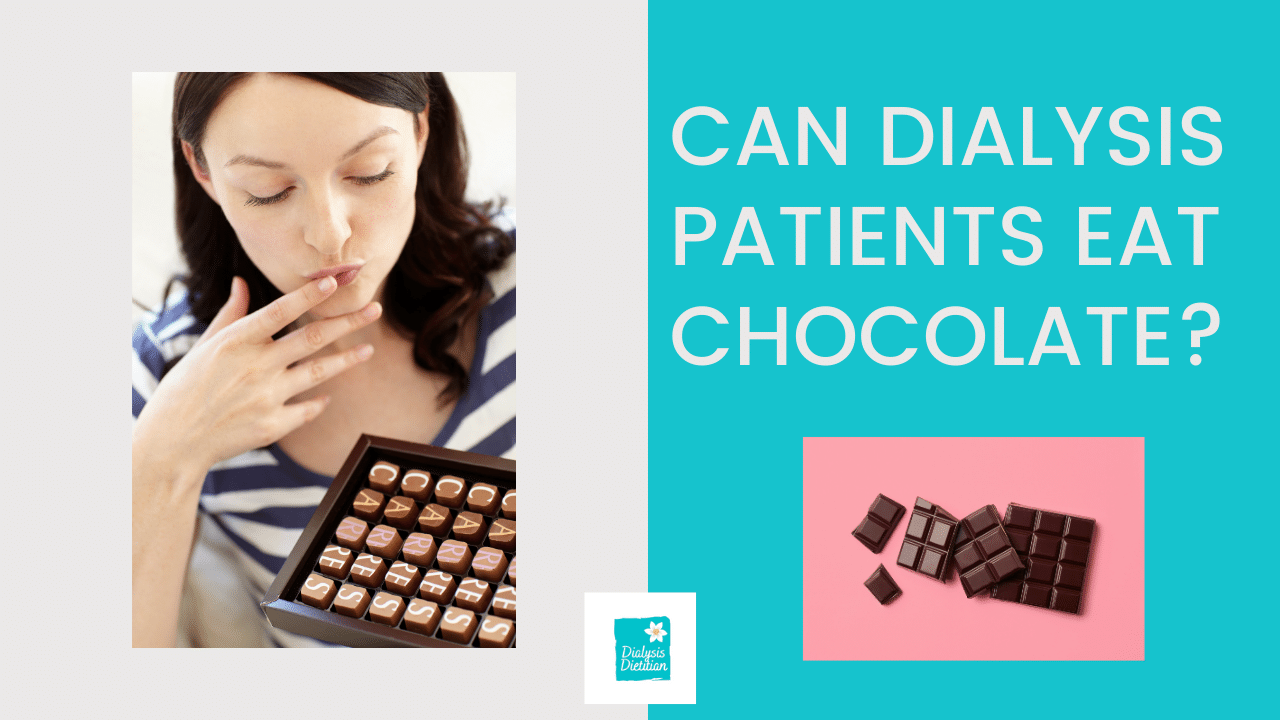 Can Dialysis Patients Eat Chocolate? Picture of girl looking at box of chocolates.